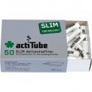 Tune Acti Tube Box  10 x 50 Slim Aktivkohlefilter