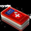 Swiss Classic Collection Box mit Kreuz 8 x 185g