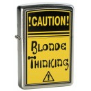 Zippo - Caution! Blonde Thinking