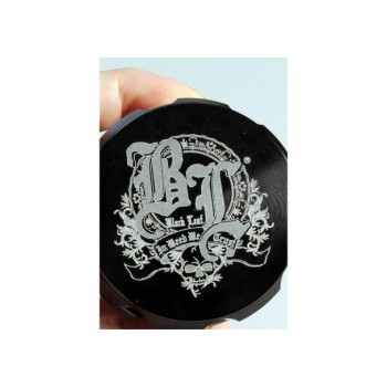 'Black Leaf' Grinder 'Crown' Schwarz 4-tlg.