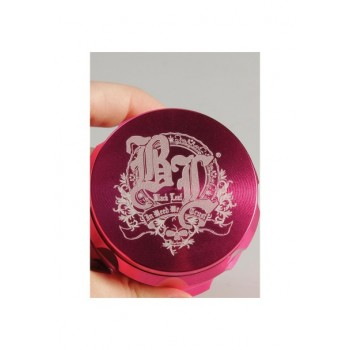 'Black Leaf' Grinder 'Crown' Pink 4-tlg. 55mm