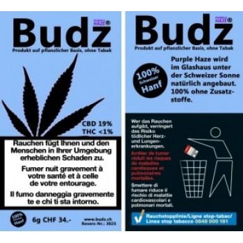 Budz CBD-Hanf Blüten Tabakersatz 6gr