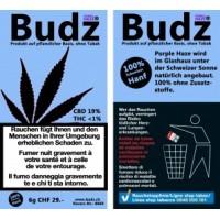 Budz CBD-Hanf Blüten Tabakersatz